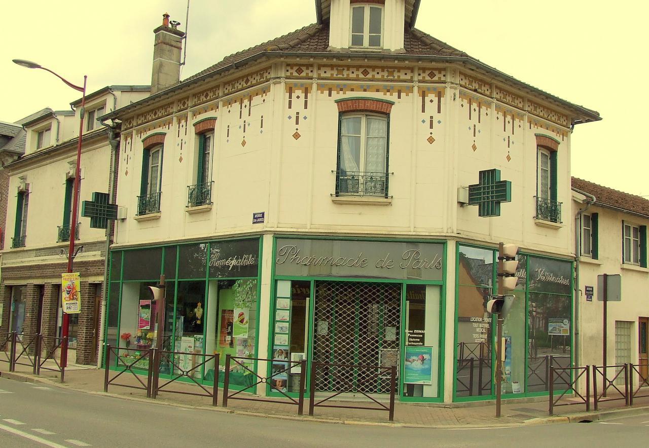 la pharmacie de Paris