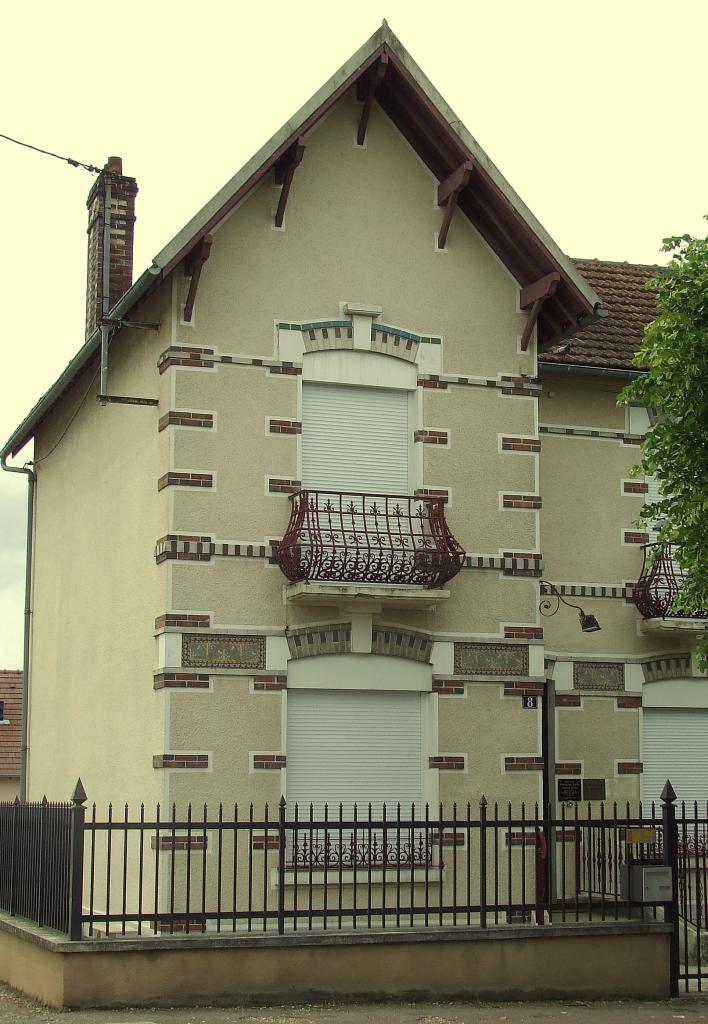 l'ancienne maison du docteur Collette