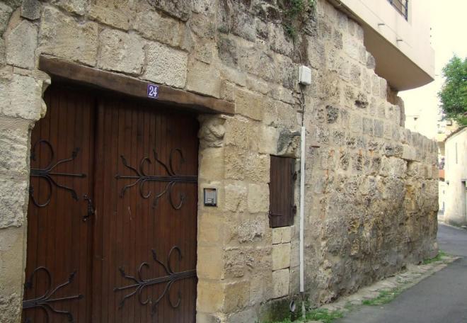 anciens remparts rue des Murs