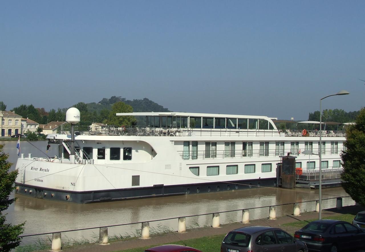 le River-Royale au ponton Roger de Leyburn