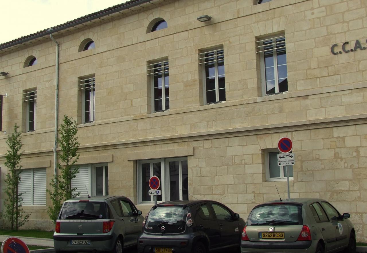 un immeuble administratif
