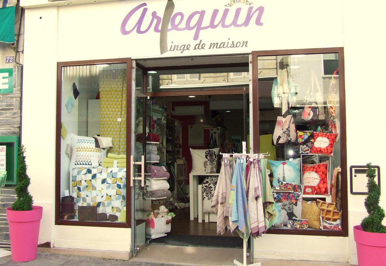 boutique chez Arlequin