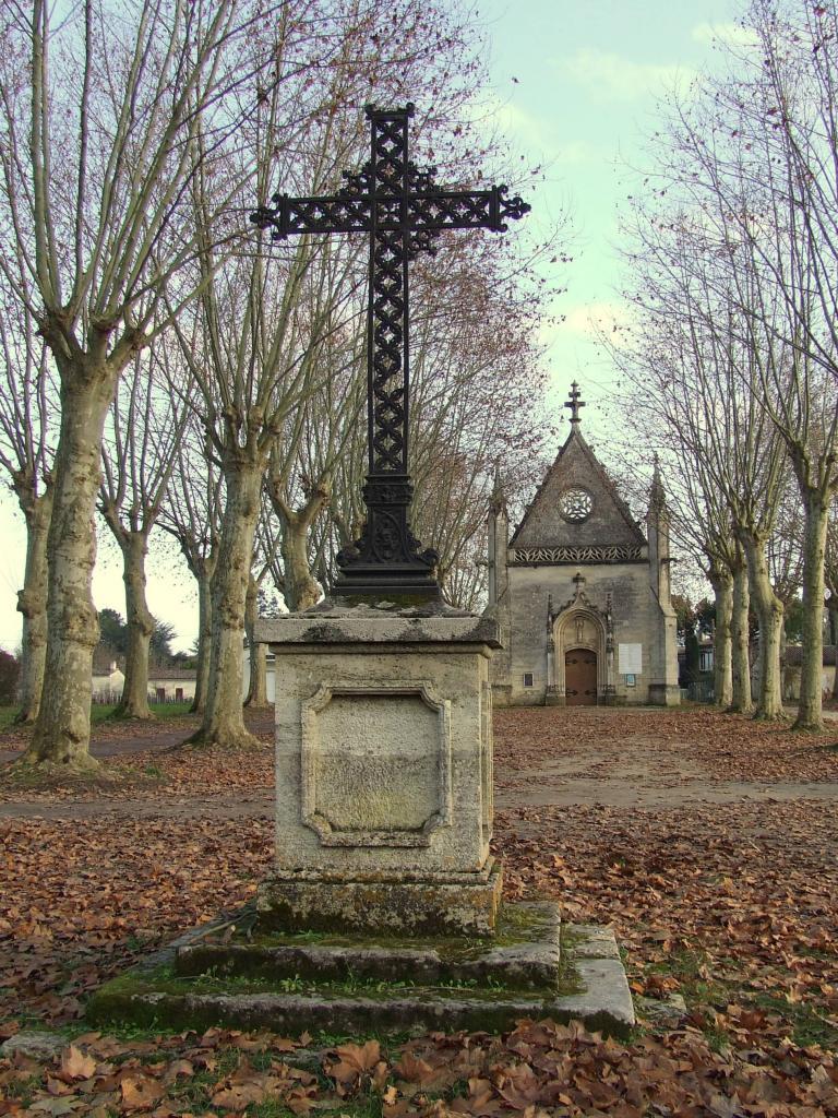 croix et chapelle de Condat
