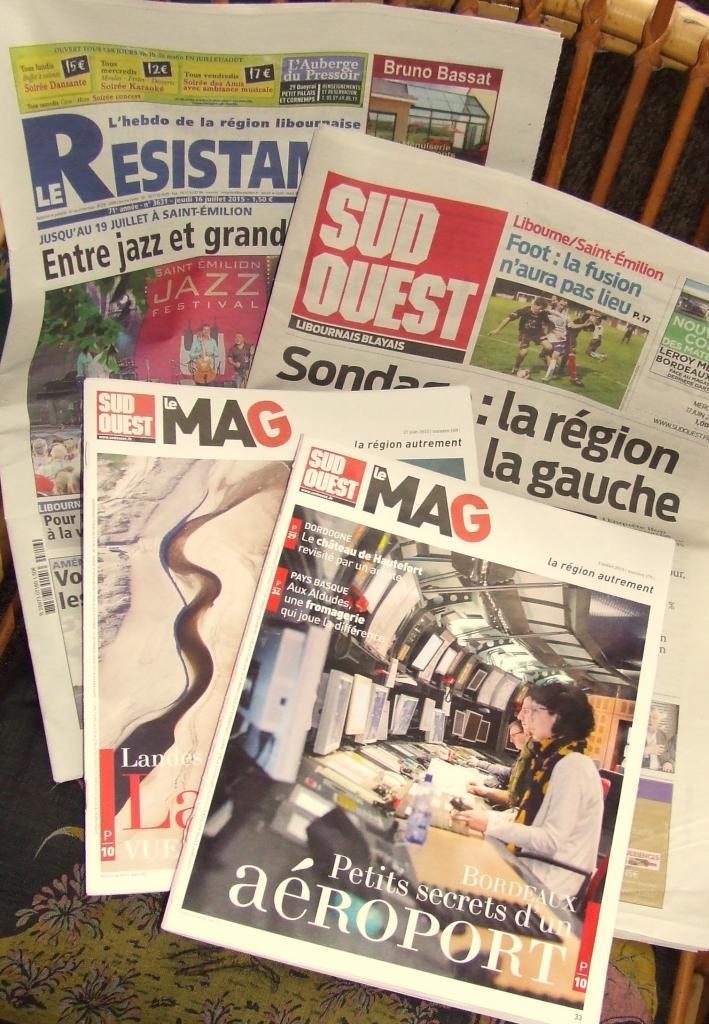 la presse locale et régionale