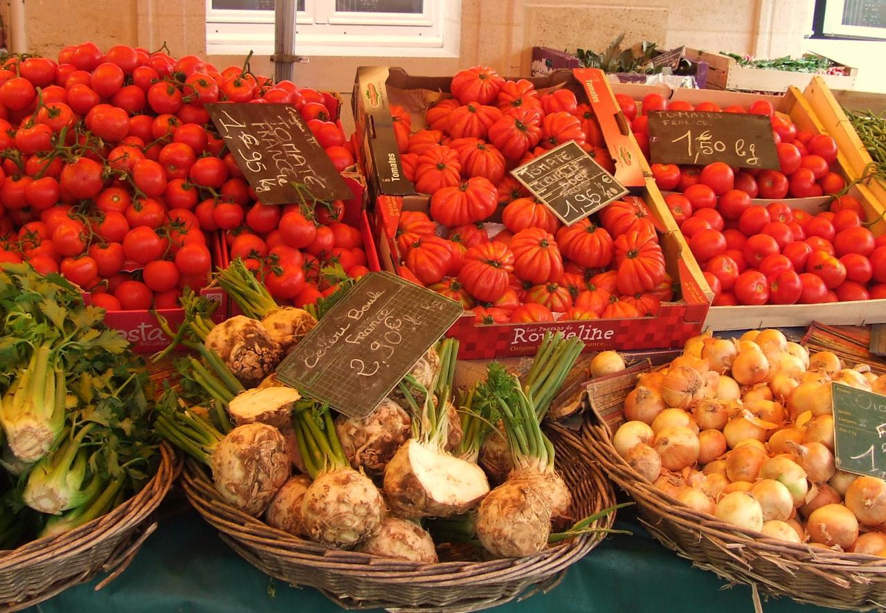 fruits et légumes chez Naud