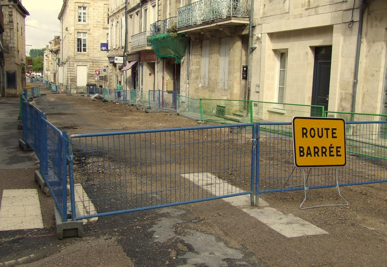 Rue Fonneuve (le bas de la rue)