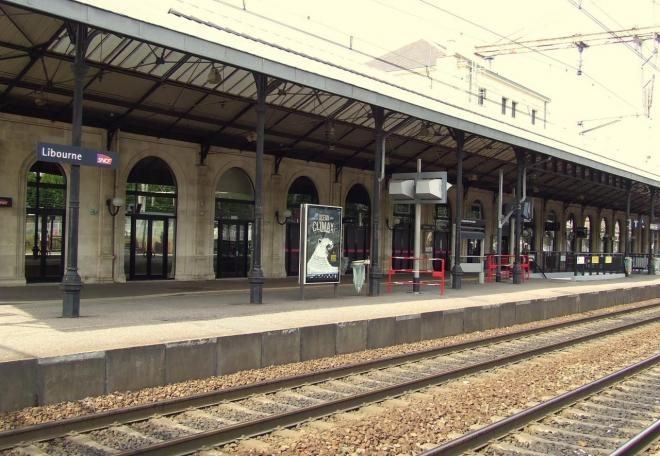 la gare SNCF