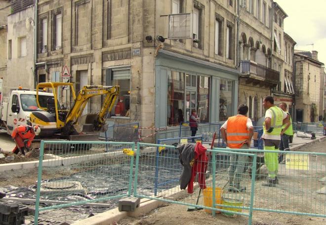 raccordement rue Fonneuve/rue des chais