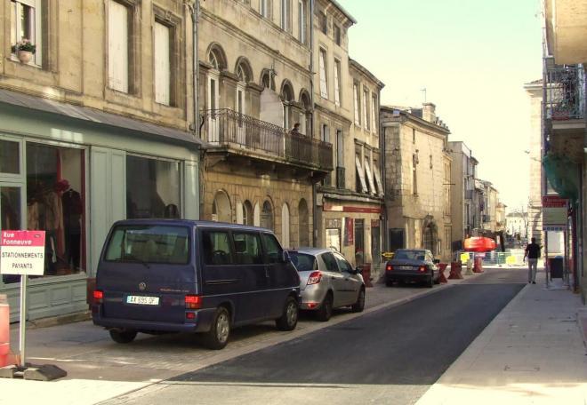 la rue Fonneuve