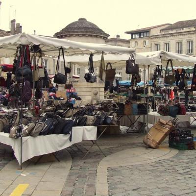 marchés de plein air