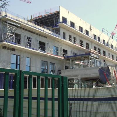 travaux  hôpital Robert Boulin