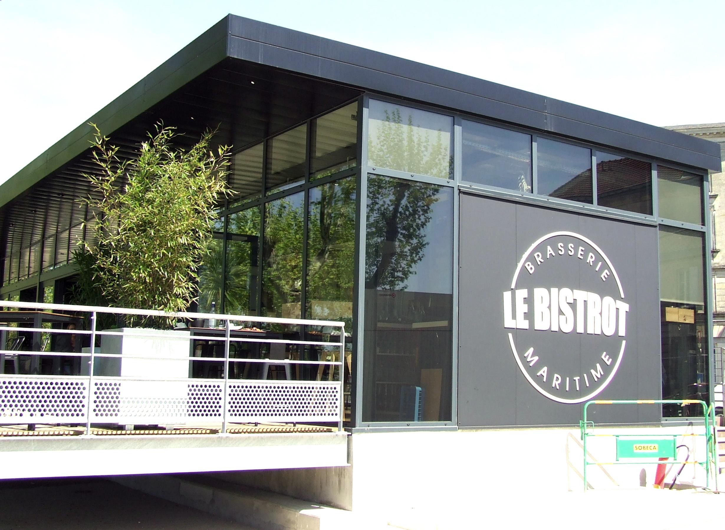 Autre façade du restaurant