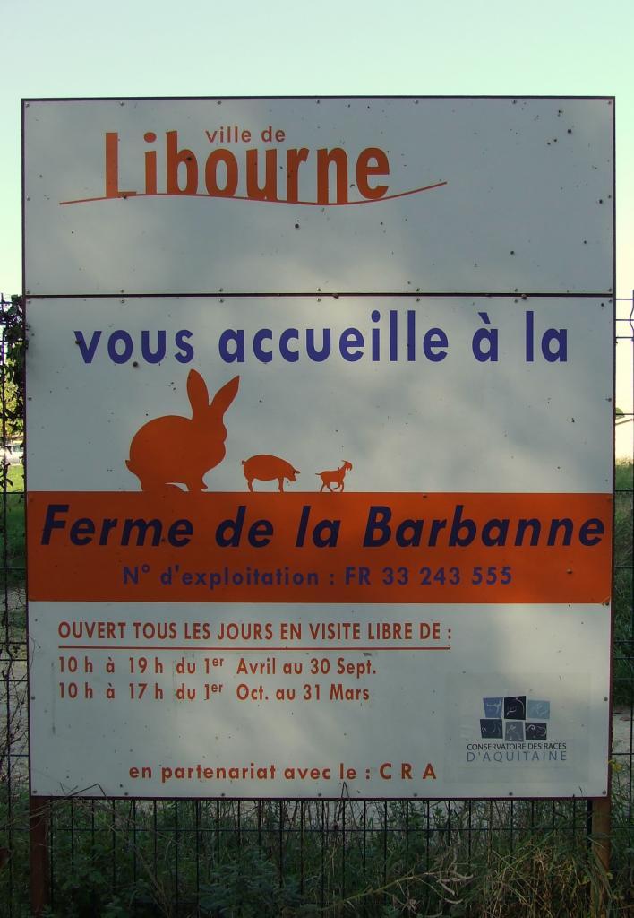 la ferme de la Barbanne