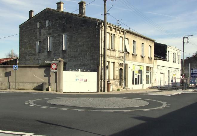 le giratoire avenue de Verdun