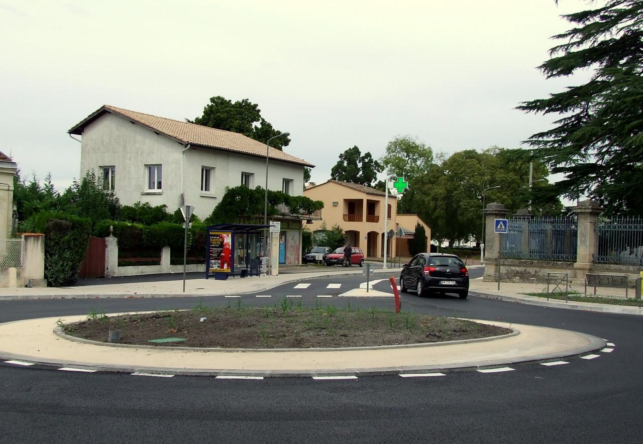 giratoire rue de la Marne