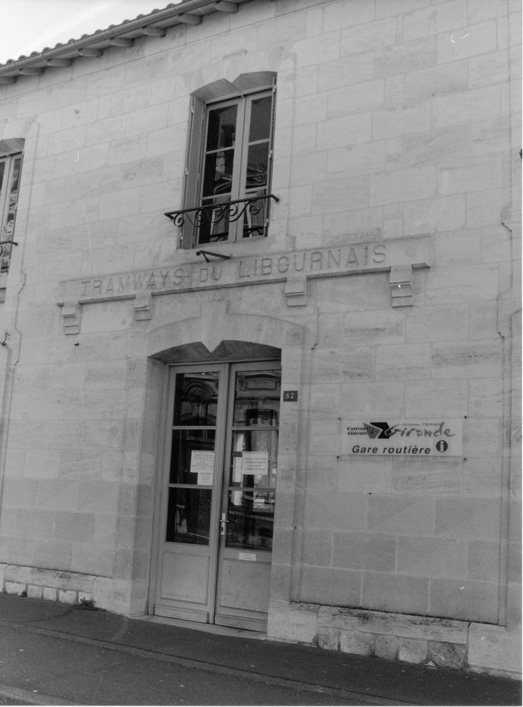 l'ancienne gare du tramway