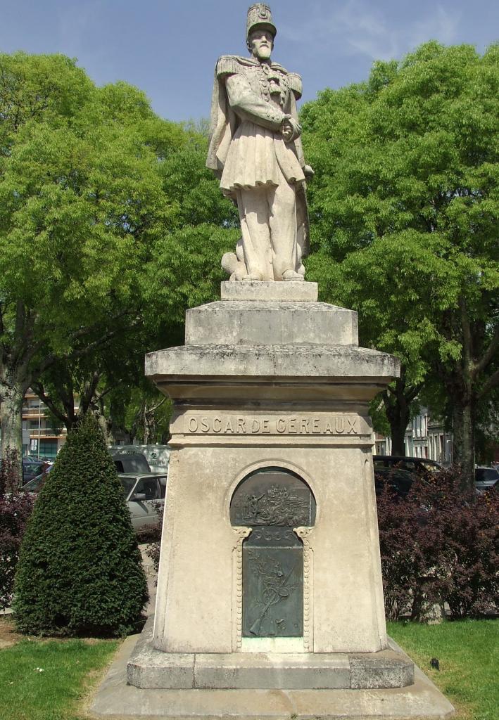 la statue de Oscar de Géreaux,