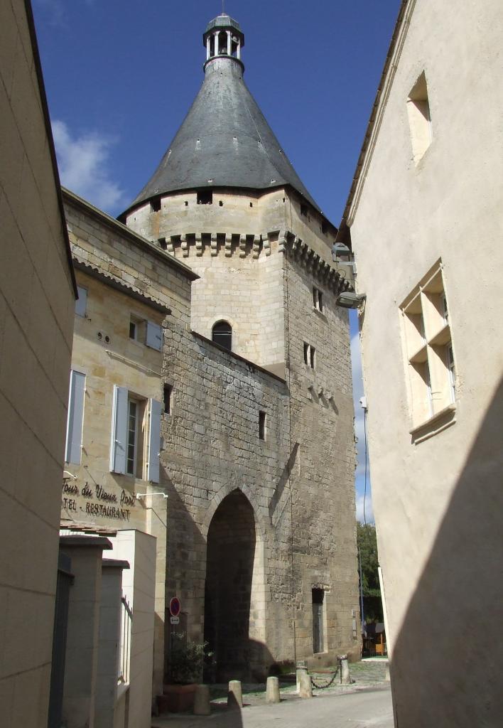 la Tour Richard, vue de la rue Carnot