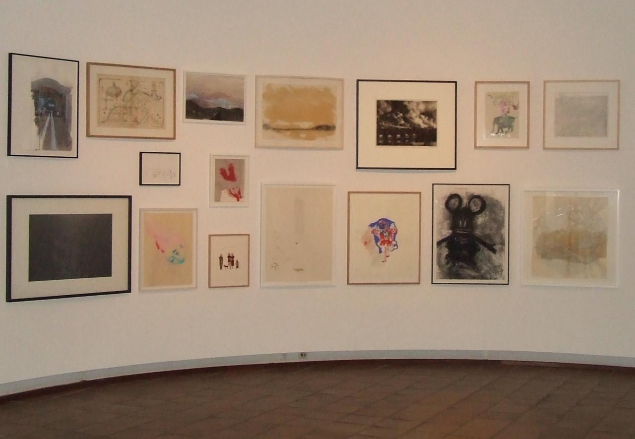 le Carmel, exposition Guerlain, vue générale