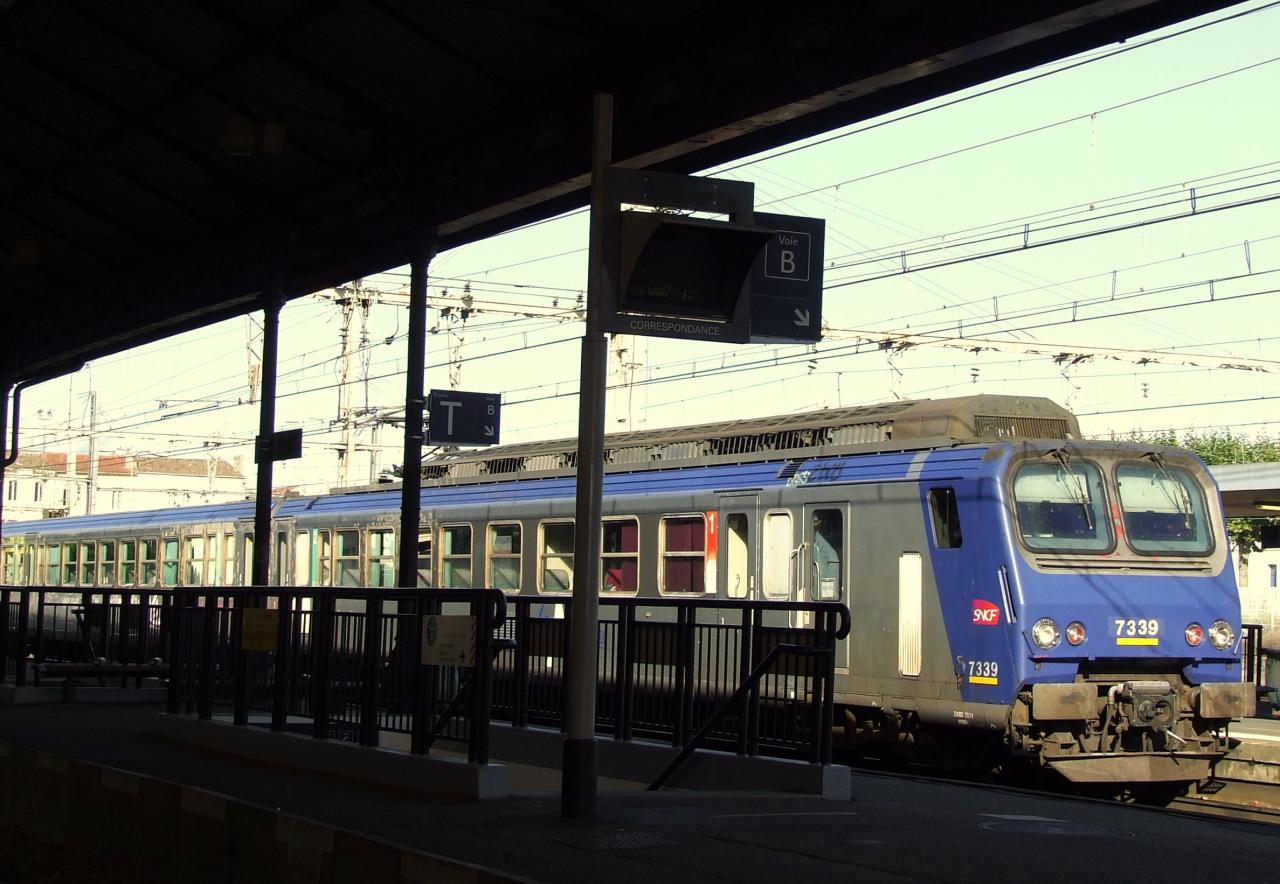 le TER Bordeaux-Bergerac