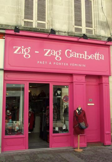 le magasin Zig-Zag