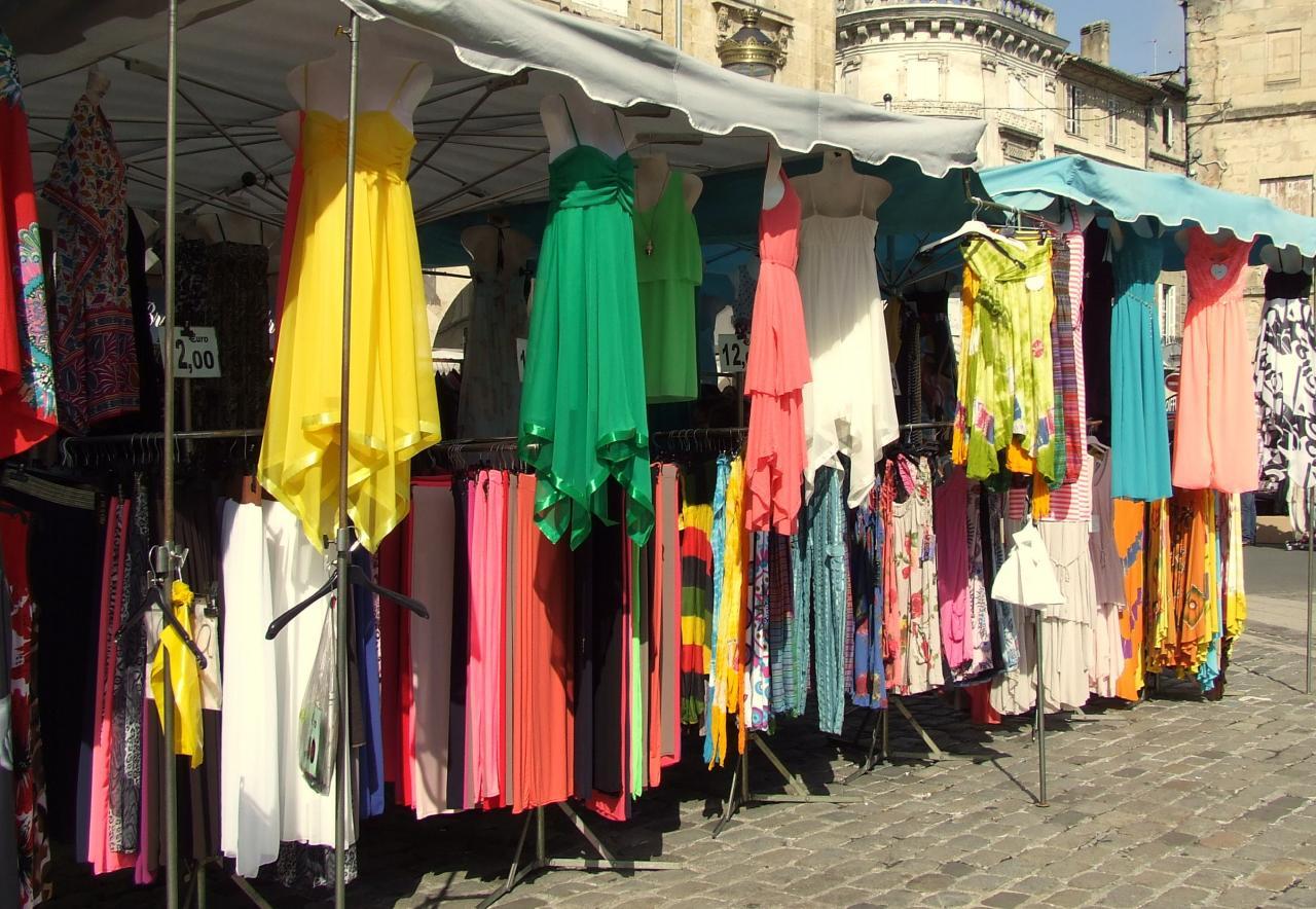 commerce d'habillement