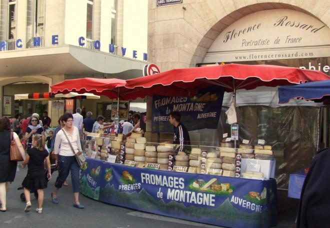 le marché plein air du mardi