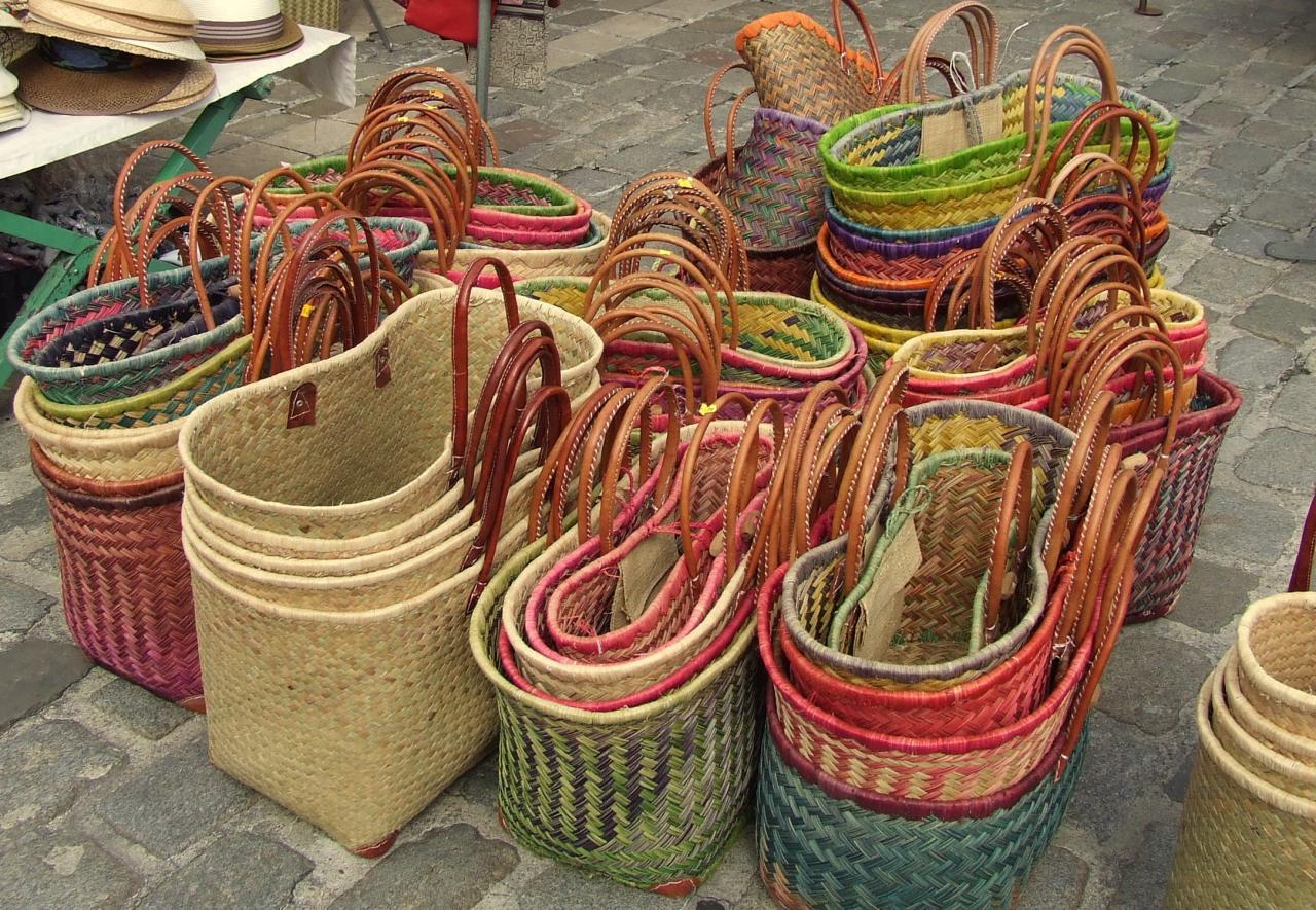 même des sacs....