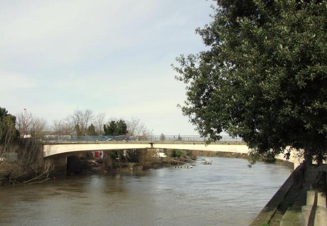 le pont sur l'Isle