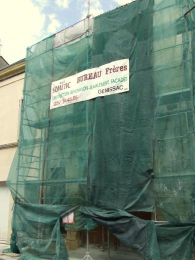 restauration de l'hâbitat, protection et travaux préliminaires