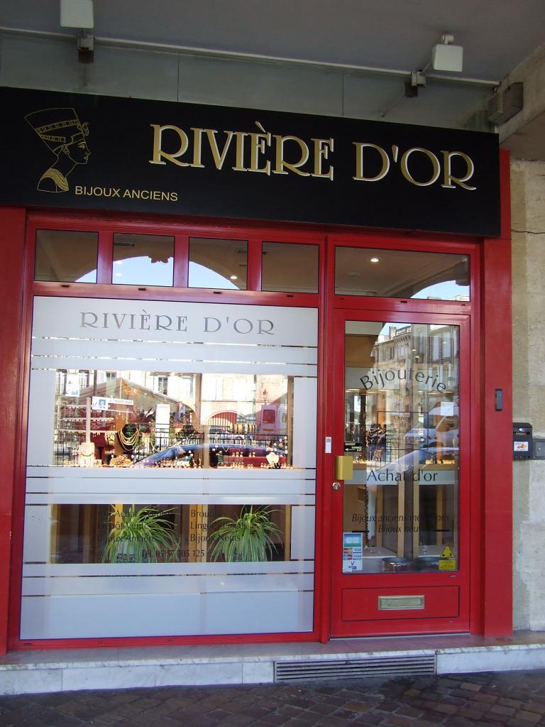 la boutique la Rivière d'Or