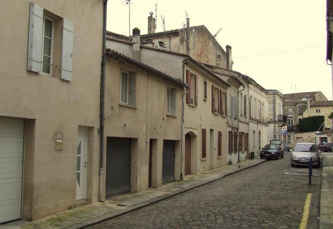 Vieux Libourne, petite rue de Périgueux