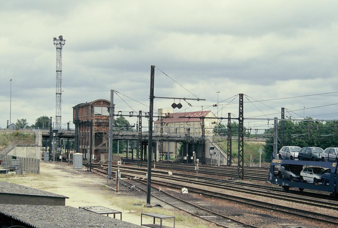 Migennes, le rail, zone de Préblin